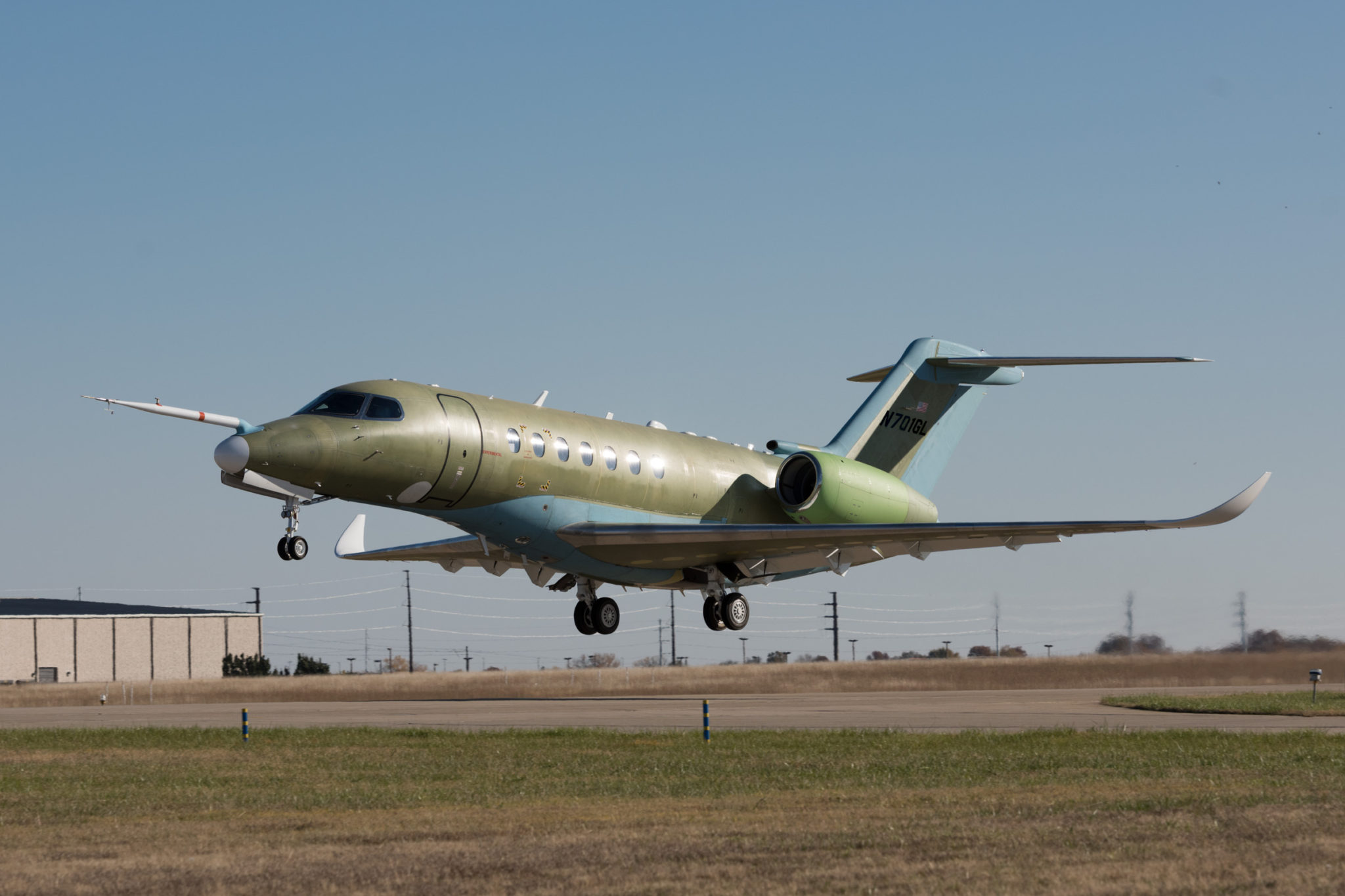 Second Cessna Citation Longitude takes flight