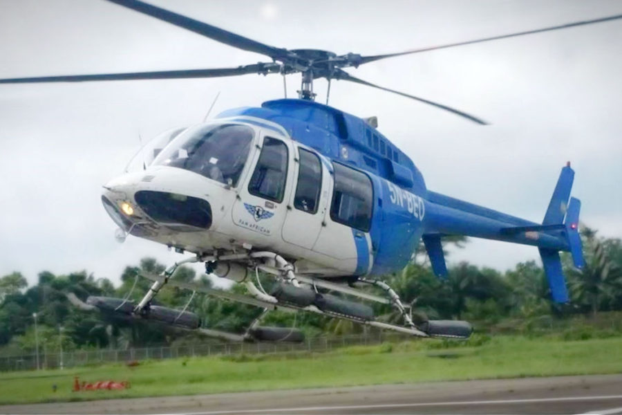 The Bell 407 in Africa: Climbing Mountains and Setting Records