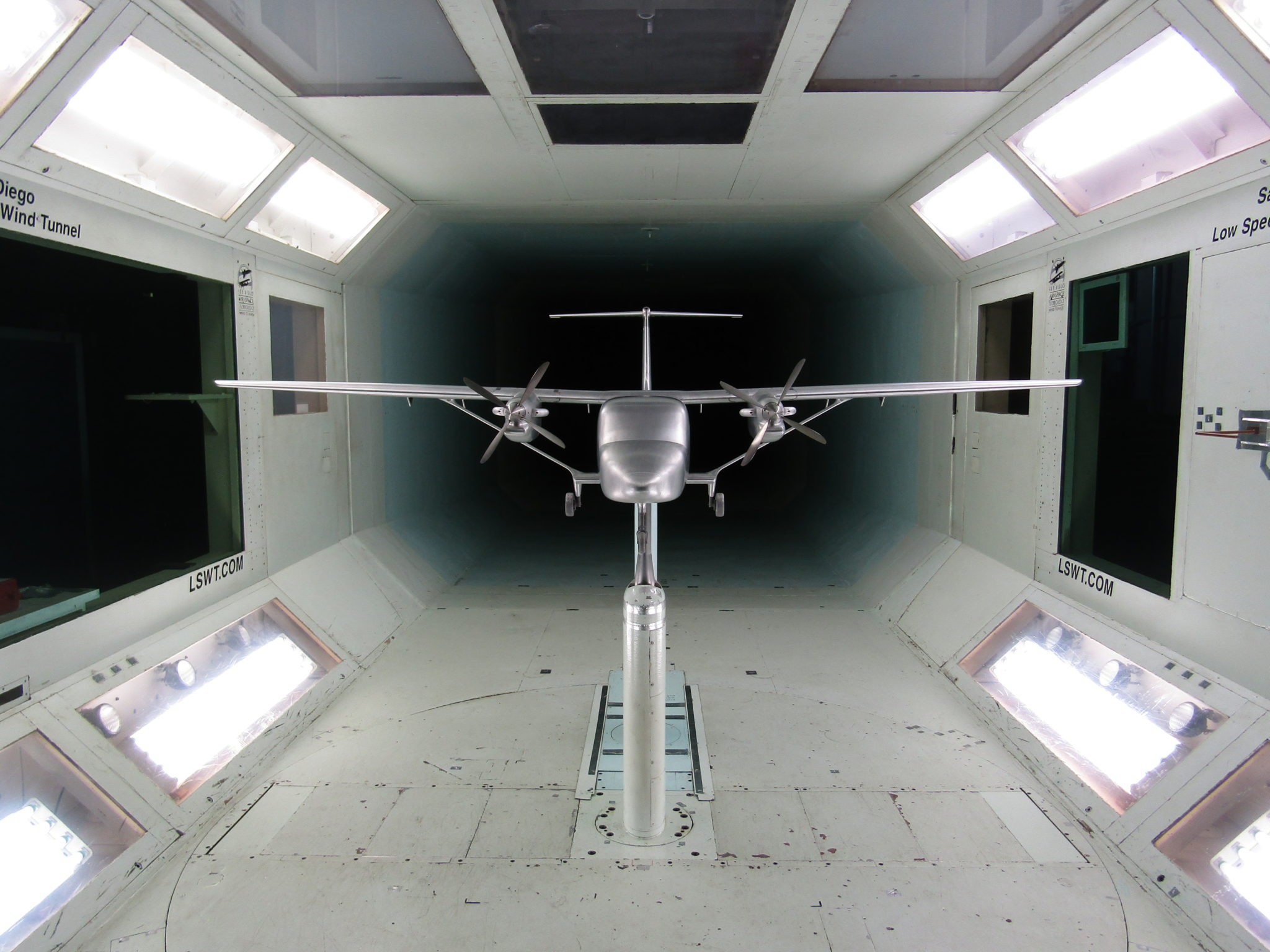 Cessna SkyCourier Completes Initial Wind Tunnel Testing