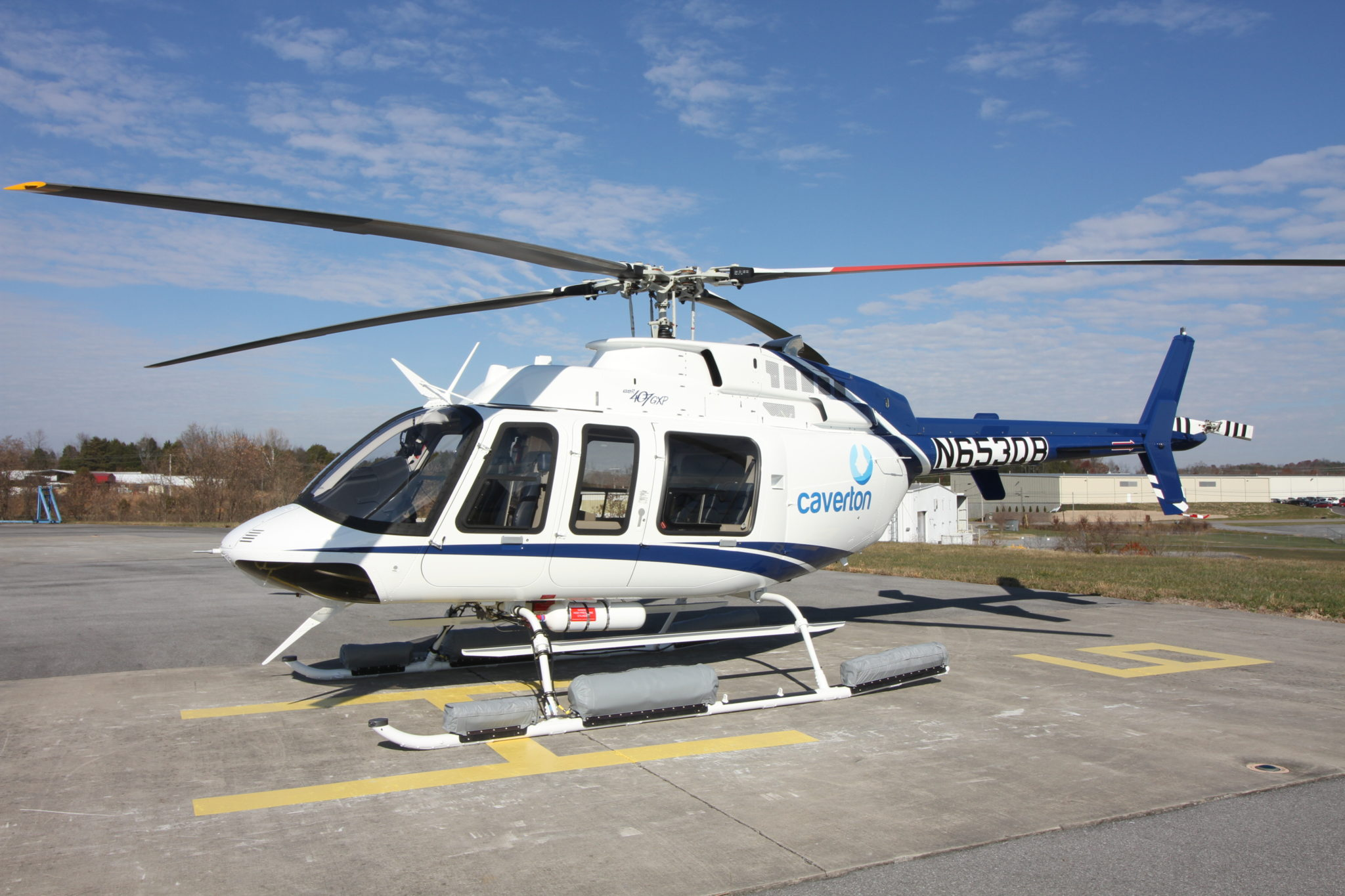 Caverton Expands Existing Bell Helicopter Fleet with Eight 407GXPs