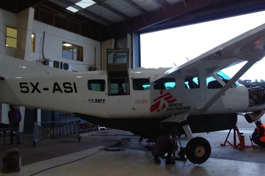 Air Serv International Donates Aircraft for Ebola Response