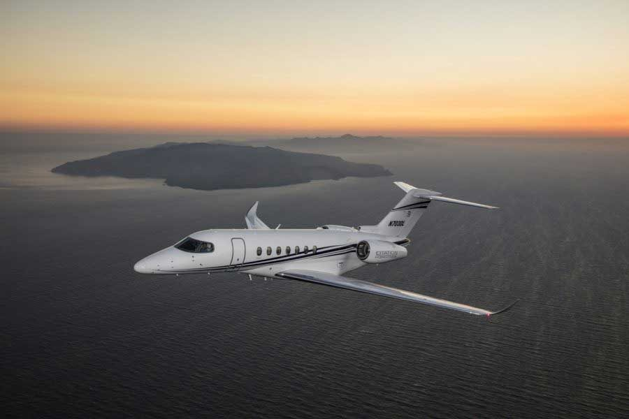 Citation Longitude returns to EBACE, nears FAA certification