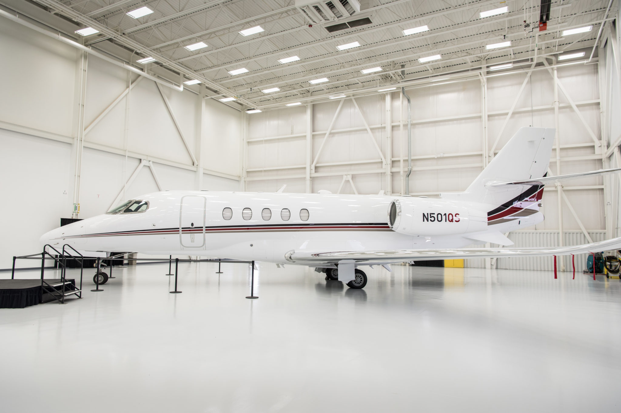 Cessna delivers milestone 7,000th Citation as NetJets' first Citation Latitude