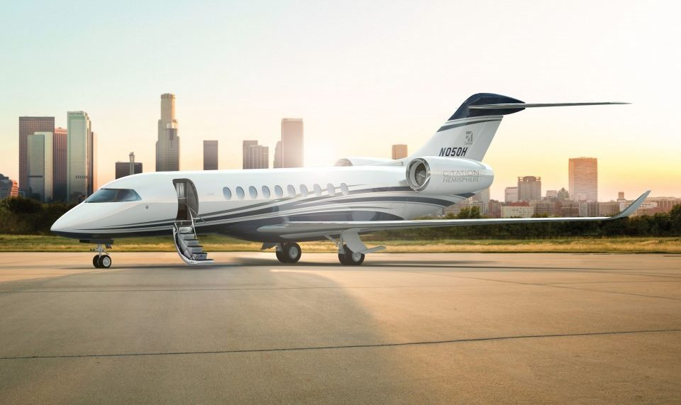 Innovation, elegance and capability unite in the new Citation Hemisphere; Cessna selects engine, avionics and fly-by-wire suppliers for the latest in its large-cabin Citation business jet family