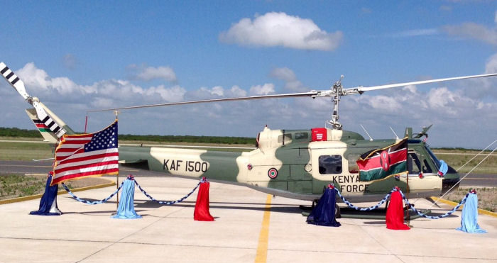 Kenyan Defense Force takes delivery of five Bell Huey II from Africair