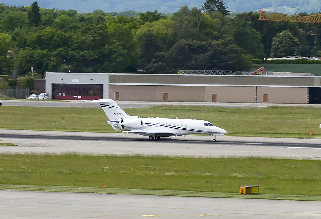 Cessna Citation Longitude crosses the pond for European debut; program on track for certification later this year