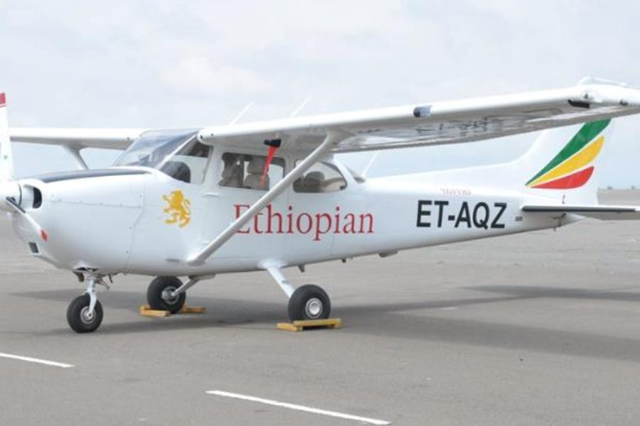 Ethiopian Airlines Receives #4-7 of 10 C172 Continental Diesel Conversions