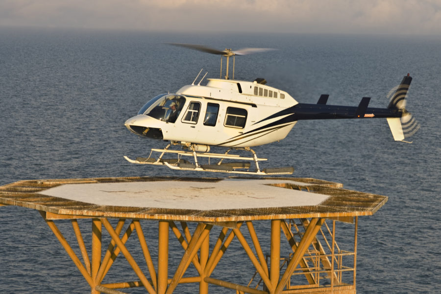 Bell 206L4 Offshore. 2006
