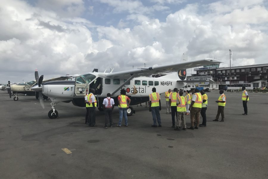 Africair, Inc. Delivers Two New Cessna Caravan EXs to Coastal Aviation in Tanzania